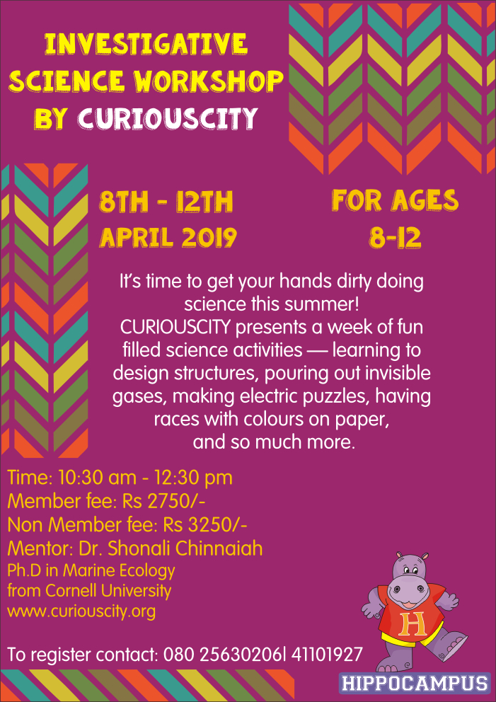 Curiouscity Workshop 2019
